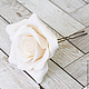 Заколки ручной работы. Заказать Шпильки с розами (большие) Белые. Tanya Flower. Ярмарка Мастеров. Украшение в прическу, цветы для прически