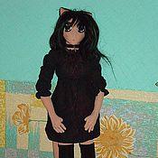 Куклы и игрушки ручной работы. Ярмарка Мастеров - ручная работа Женщина-кошка. Handmade.