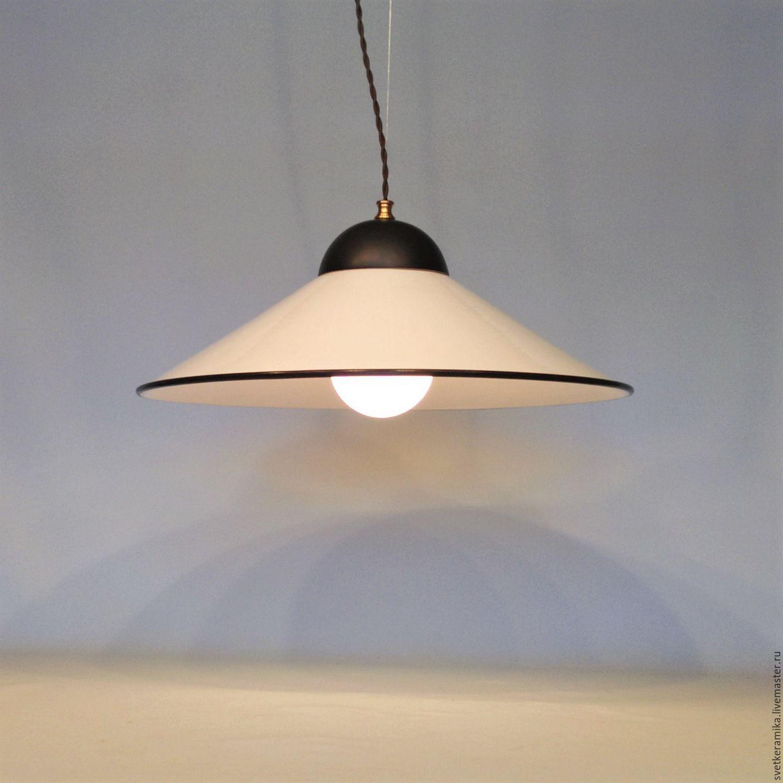 Люстра с плафоном из фарфора (диаметр - 24, 33 или 45 см), Люстры, Москва, Фото №1