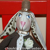 Куклы и игрушки ручной работы. Ярмарка Мастеров - ручная работа Кролик Пафнутий. Handmade.