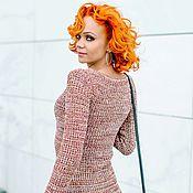 """Одежда ручной работы. Ярмарка Мастеров - ручная работа Платье """"Осень"""" вязаное. Handmade."""