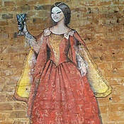 Роспись на кирпичной стене