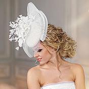 """Шляпы ручной работы. Ярмарка Мастеров - ручная работа Свадебная шляпка """"Vera"""". Handmade."""