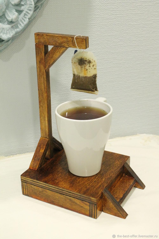 Виселица для чайных пакетиков, Подставки, Ульяновск,  Фото №1