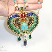 Украшения handmade. Livemaster - original item Of Egypt pendant scarab beetle. Handmade.