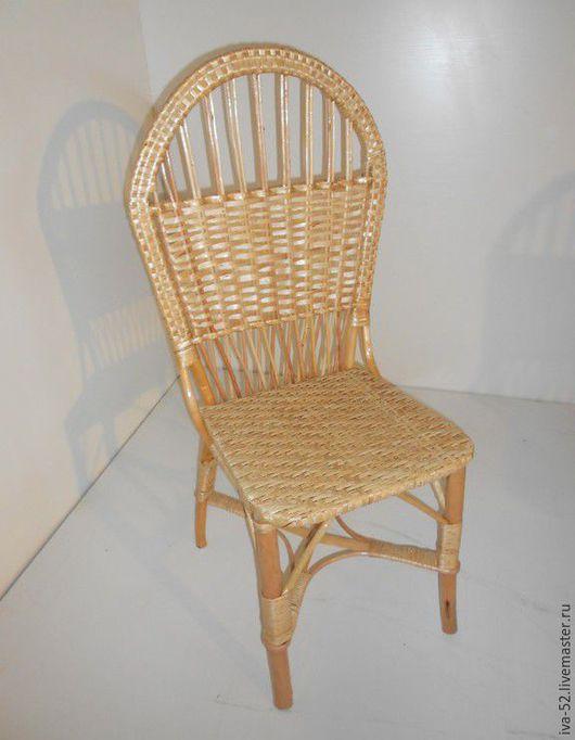 Мебель ручной работы. Ярмарка Мастеров - ручная работа. Купить Стул, плетеный из лозы.. Handmade. Стул, стул из дерева, из ивы