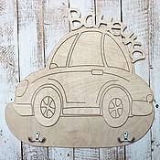 """Мебель ручной работы. Ярмарка Мастеров - ручная работа Детская вешалка для одежды """"Машинка"""". Handmade."""