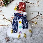 Куклы и игрушки ручной работы. Ярмарка Мастеров - ручная работа ТИльда снеговички. Handmade.