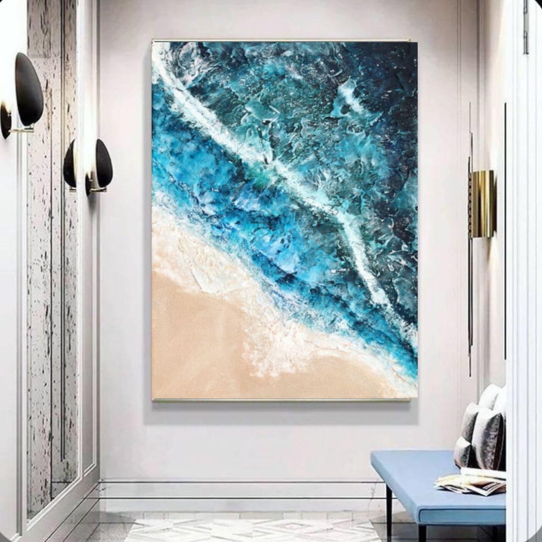 Картина море, яркая абстрактная картина, Картины, Краснодар,  Фото №1