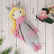 Куклы и игрушки handmade. Livemaster - original item Doll of Lalalala dressed as a Unicorn in explanation Lalylala. Handmade.
