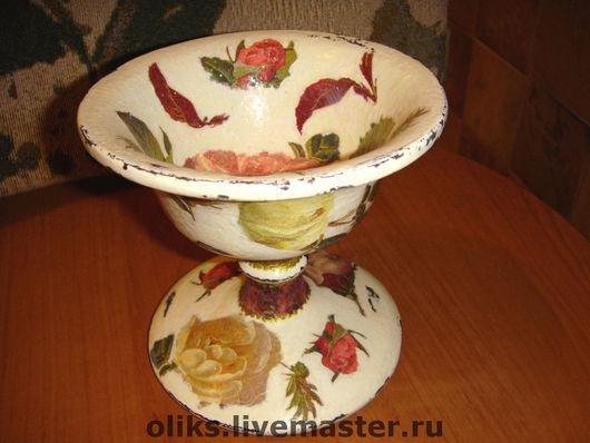 Sweet & Sugar Bowls handmade. Livemaster - handmade. Buy Wooden vase-candy dish.Tree