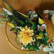 Цветы и флористика ручной работы. Ярмарка Мастеров - ручная работа осенняя пора. Handmade.