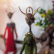 Кукла-оберег ручной работы. Ярмарка Мастеров - ручная работа Кукла-оберег: Камо. Тихий воин.. Handmade.