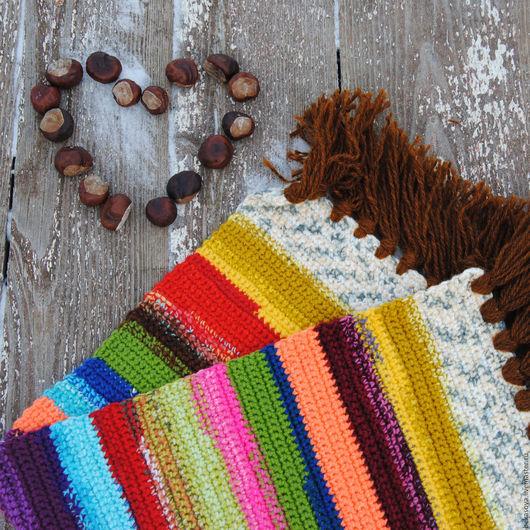 """Текстиль, ковры ручной работы. Ярмарка Мастеров - ручная работа. Купить Комплект ковриков  """"Каникулы"""". Handmade. Коврик, коврики, разноцветный"""