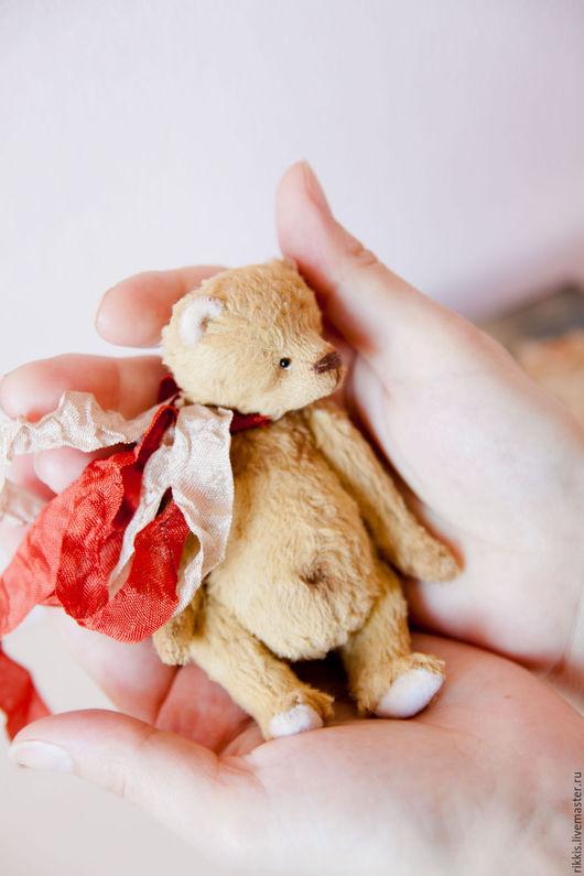 Мишки Тедди ручной работы. Ярмарка Мастеров - ручная работа. Купить Ден. Мишка Тедди. Handmade. Мишка тедди, миниатюра