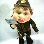 Куклы и игрушки ручной работы. Ярмарка Мастеров - ручная работа Интерьерная игрушка солдат -новобранец. Handmade.