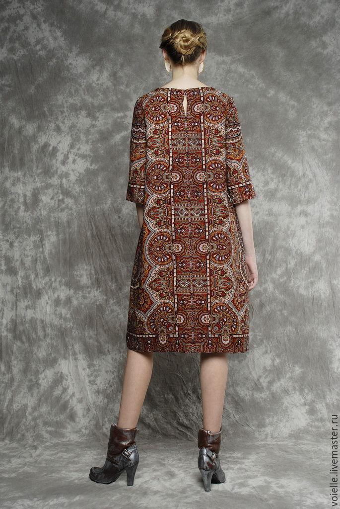 Платье из павлопосадских платков своими руками фото 22