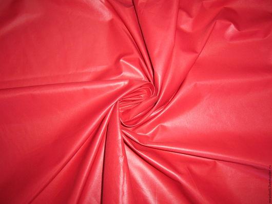 """Шитье ручной работы. Ярмарка Мастеров - ручная работа. Купить ост.  1 м.  Плащевая  """"Красная"""". Handmade. Ярко-красный"""