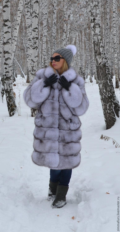 Fur coat Fox volevogo. Cross, Fur Coats, Omsk,  Фото №1