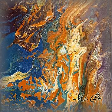 """Картины и панно ручной работы. Ярмарка Мастеров - ручная работа Копия работы """"Морской пейзаж"""", картина акриловыми красками.. Handmade."""