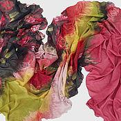 Аксессуары ручной работы. Ярмарка Мастеров - ручная работа Валяный шарф Роза. Handmade.