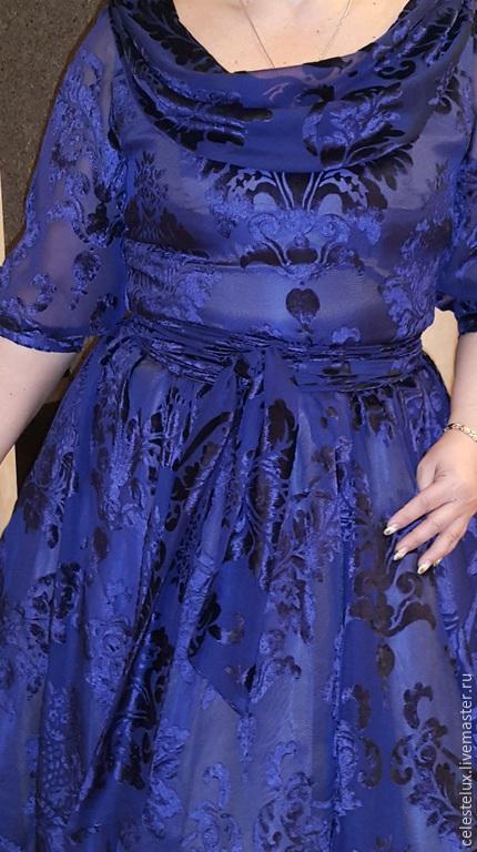 Polyprpilene, платья из панбархата на шифоне фото Июнь 2013 Александра