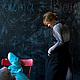 """Платья ручной работы. Платье и платье-передник для будущих мам """"В строгой форме"""". Светлана Бушуева (BuCha-mala). Интернет-магазин Ярмарка Мастеров."""