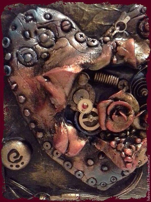 Шкатулки ручной работы. Ярмарка Мастеров - ручная работа. Купить шкатулка-'Механическое сердце'.. Handmade. Стимпанк, акриловый лак