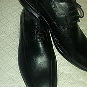 Обувь ручной работы. Ярмарка Мастеров - ручная работа Туфли мужские из натуральной кожи. Handmade.