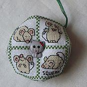 Аксессуары ручной работы. Ярмарка Мастеров - ручная работа Кошки-мышка. Handmade.