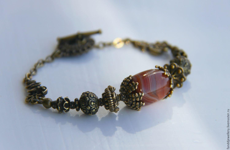 Bracelets Handmade Livemaster Bracelet Asia