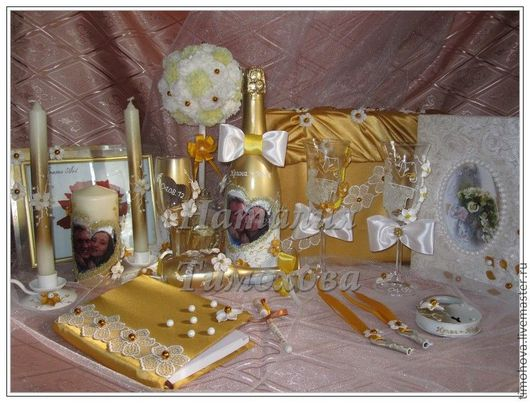 Удивительный набор для свадьбы. Все самое необходимое. Автор: Тимохова Наталия.