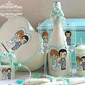 Свадебный салон handmade. Livemaster - original item Wedding set-style