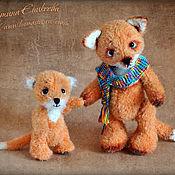 Куклы и игрушки ручной работы. Ярмарка Мастеров - ручная работа Лисята. Handmade.