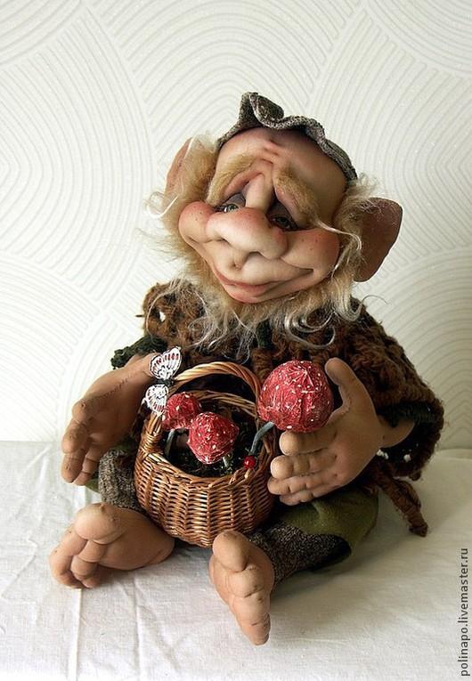 Сказочные персонажи ручной работы. Ярмарка Мастеров - ручная работа. Купить Лесной житель. Handmade. Лесной житель, текстильная кукла