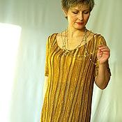"""Одежда ручной работы. Ярмарка Мастеров - ручная работа Платье """"Золотое"""". Handmade."""