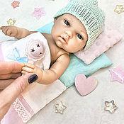 handmade. Livemaster - original item Bed for dolls 26-33 cm.. Handmade.