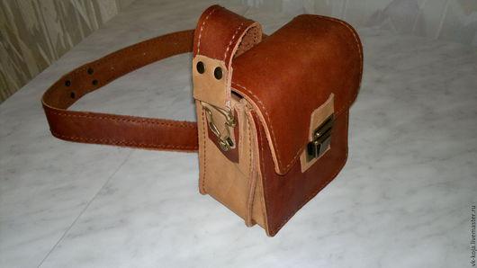 Малая мужская сумка настоящего путешественника