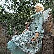 Куклы и игрушки ручной работы. Ярмарка Мастеров - ручная работа Серафима. Феечка в стиле БОХО. Handmade.