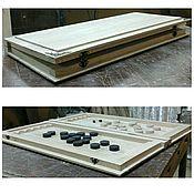 Материалы для творчества handmade. Livemaster - original item Backgammon oak, storage 018. Handmade.