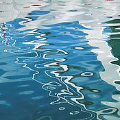 Картины и панно ручной работы. Ярмарка Мастеров - ручная работа Абстрактная фотокартина «Море любит паруса» для современного интерьера. Handmade.