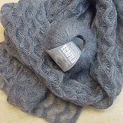 Аксессуары ручной работы. Ярмарка Мастеров - ручная работа Нежный шарф из мохера с шелком Дежавю. Handmade.