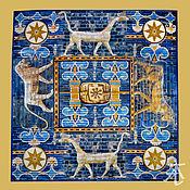 Фен-шуй и эзотерика handmade. Livemaster - original item Ishtar altar cloth, tablecloth 70 cm.. Handmade.