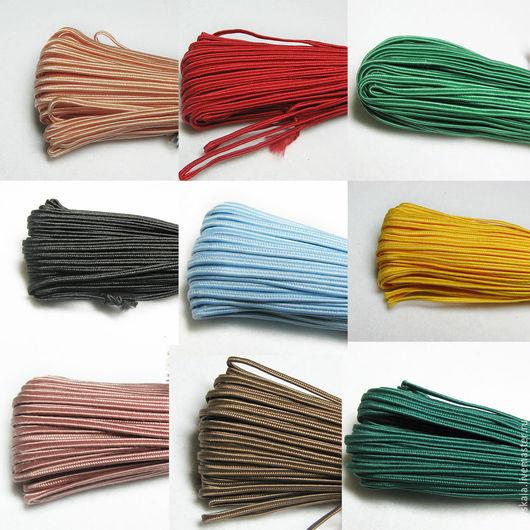 Шнур `Сутаж` для изготовление сутажных украшений, которые можно отнести к ювелирному искусству: кулонов, серег, колье, брошей.