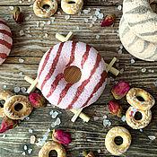Косметика ручной работы handmade. Livemaster - original item Bath bombs Donuts set of 4 pcs. Handmade.