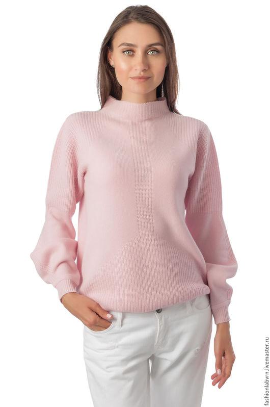 """Кофты и свитера ручной работы. Ярмарка Мастеров - ручная работа. Купить Нежнейший кашемировый свитер """"Ласковый план"""". Handmade."""