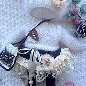 """Куклы и игрушки ручной работы. Ярмарка Мастеров - ручная работа """"Карамель в шоколаде"""". Комплект одежды для куклы. Handmade."""