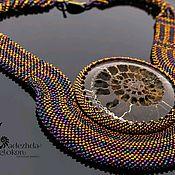 handmade. Livemaster - original item Ammonite necklace. Handmade.