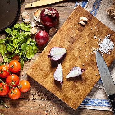Посуда. Ярмарка Мастеров - ручная работа Торцевая разделочная доска. Handmade.