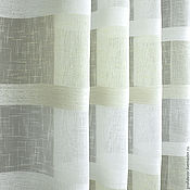 Для дома и интерьера handmade. Livemaster - original item Tulle linen for kitchen in stripes STRIP. Handmade.